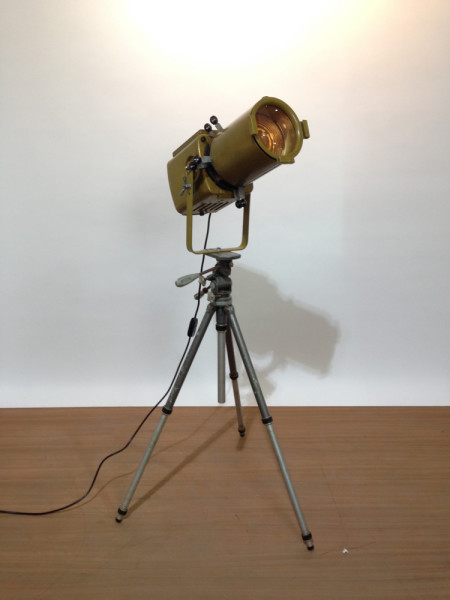 2: Vintage Industrial 'Strand Electric' Spotlight