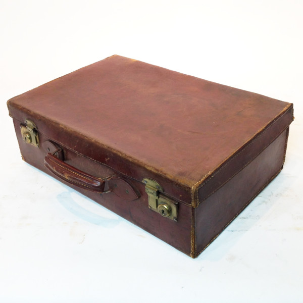 3: Brown Leather Suitcase 2