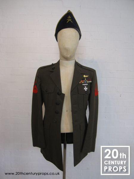 1: Vintage Army jacket