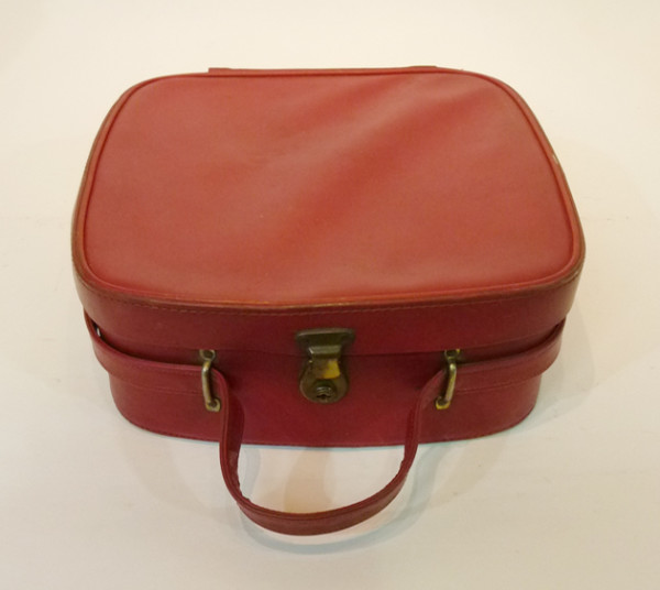 1: Small Red Vanity Case
