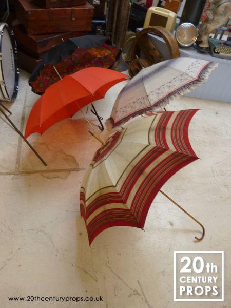 1: Vintage umbrellas