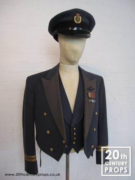2: Vintage RAF jacket, waistcoat & cap