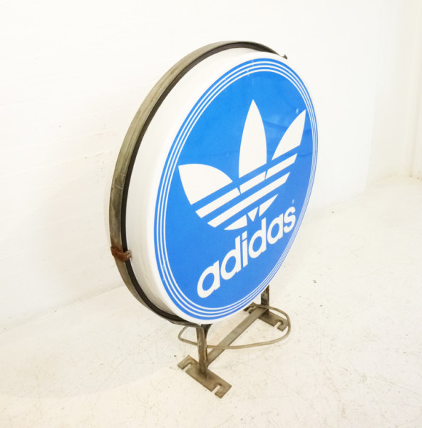 3: Large Addidas Sign