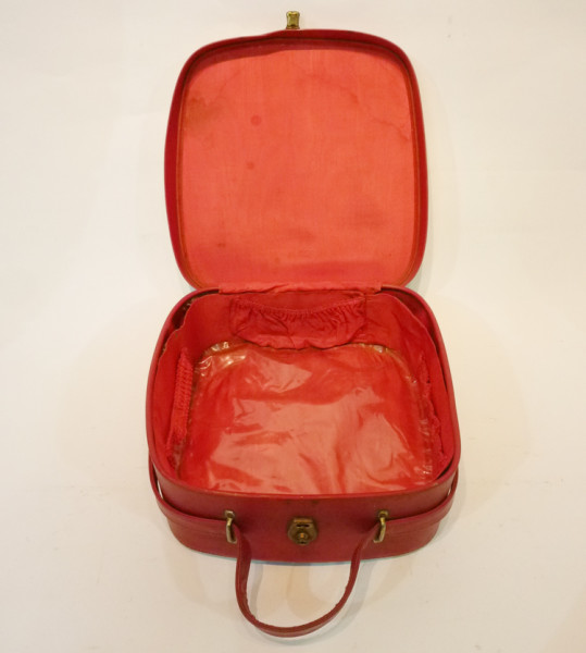 2: Small Red Vanity Case