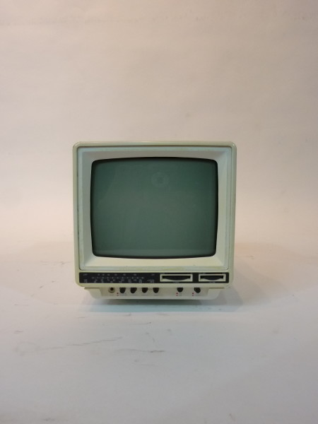 2: Mini Portable White 1990's TV