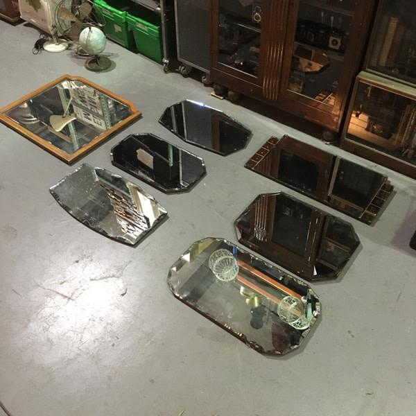 2: Vintage wall mirrors