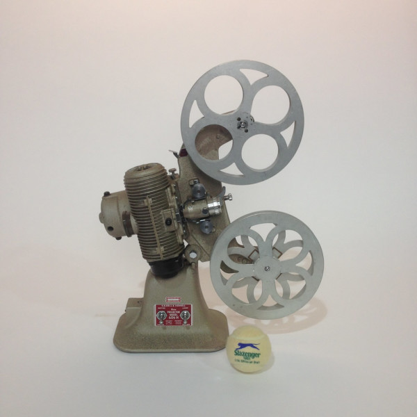 1: Bell & Howell 8mm Film Projector