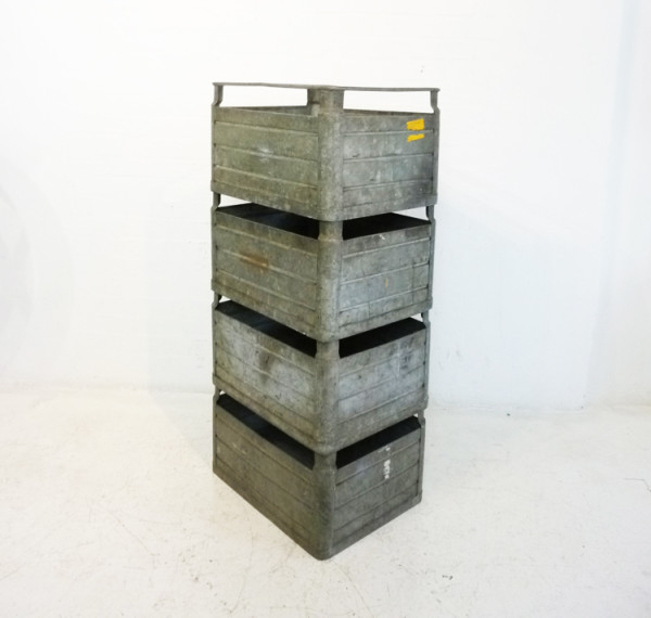 3: Metal Stacking Crates