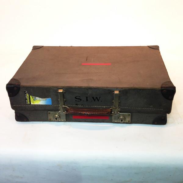 1: Light Grey Suitcase