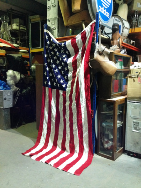 1: United States of America flag - Large