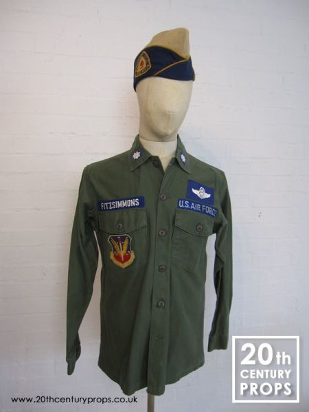 2: Vintage US Airforce shirt & beret