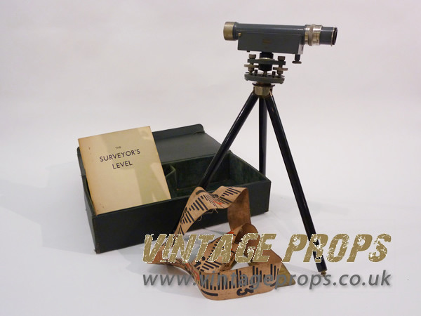 1: Vintage Theodolite and stand