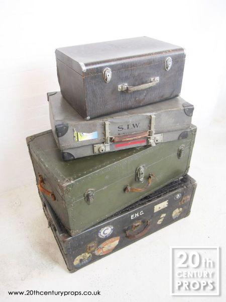 1: VIntage travel trunks & cases