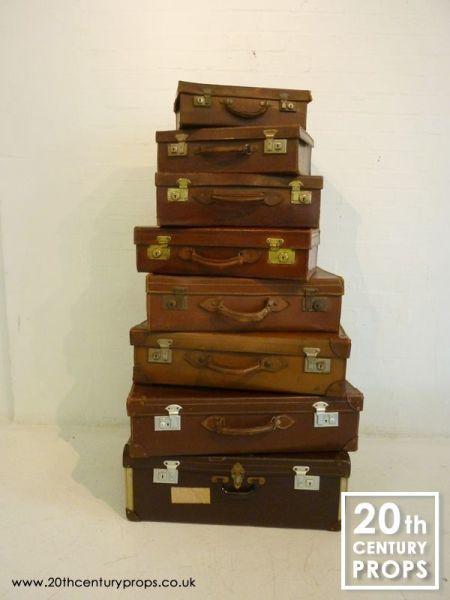 1: Vintage Suitcases
