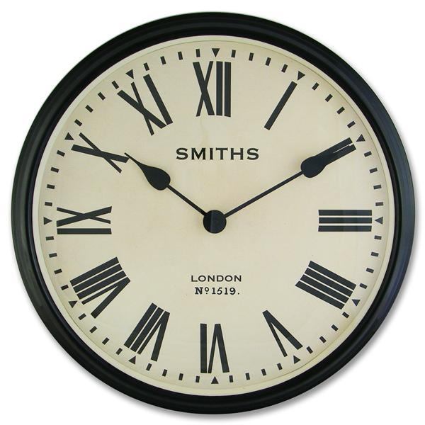 2: Smiths large vintage wall clock
