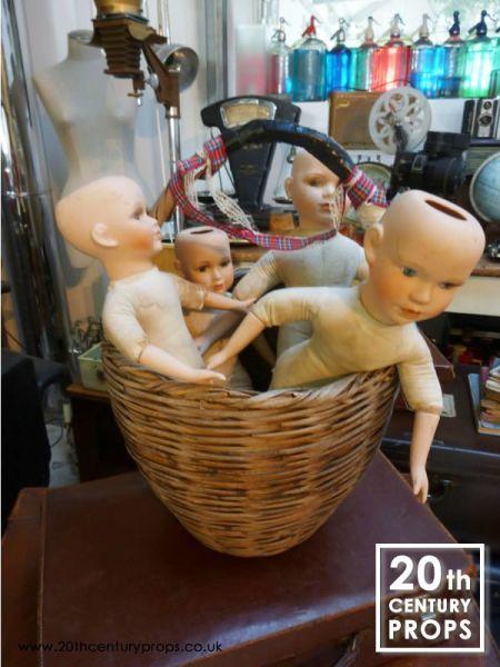 2: Vintage dolls