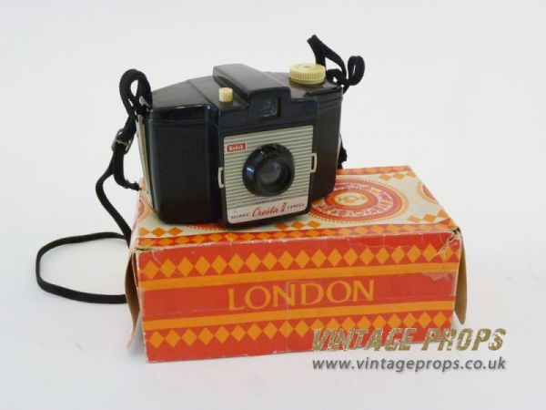 1: Vintage Kodak 'Brownie' camera