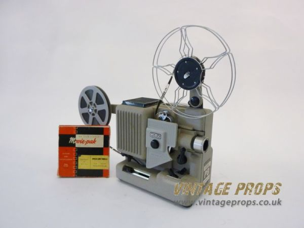 1: 8mm movie projector