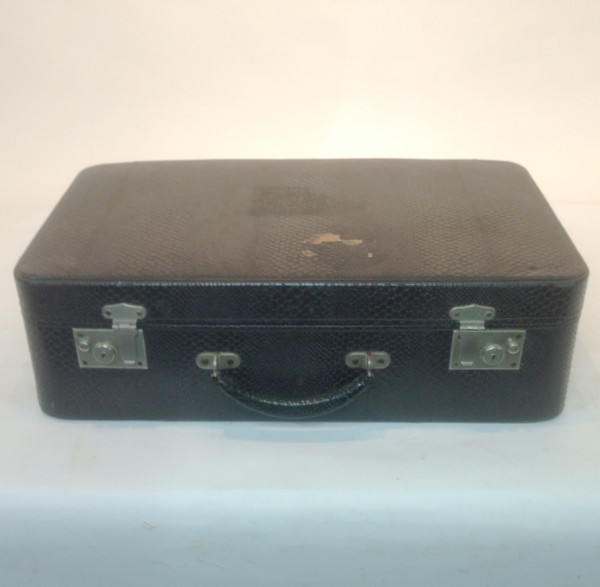 1: Large Black Suitcase