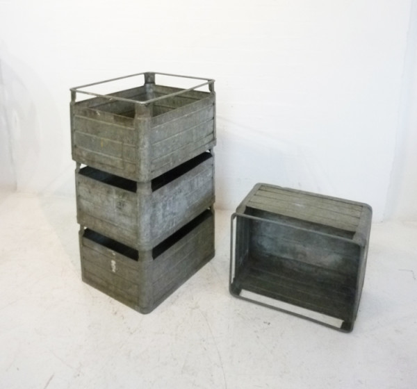 1: Metal Stacking Crates