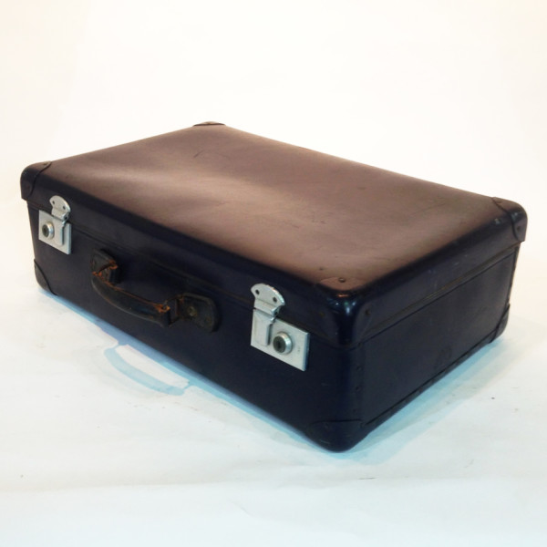 2: Blue Hard Shell Suitcase