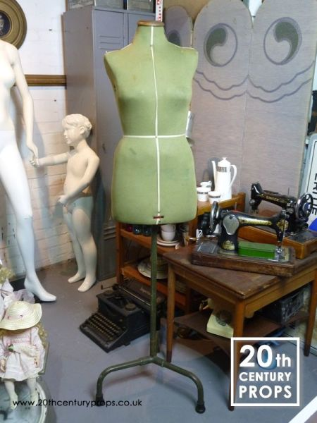 1: Vintage dressmakers mannequin