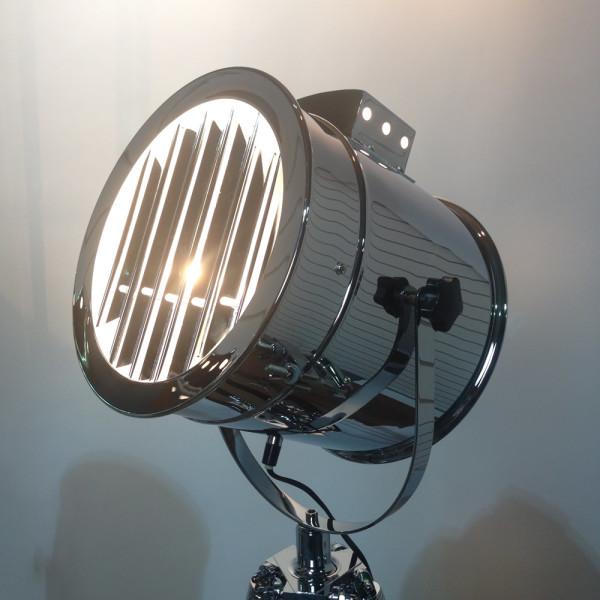 3: Vintage glamour polished chrome spotlight