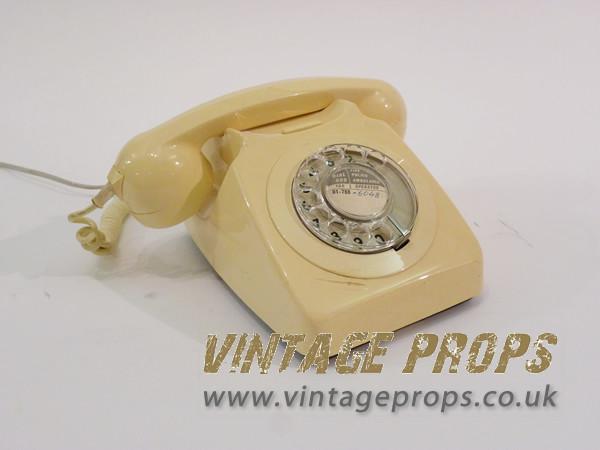 1: Vintage telephone