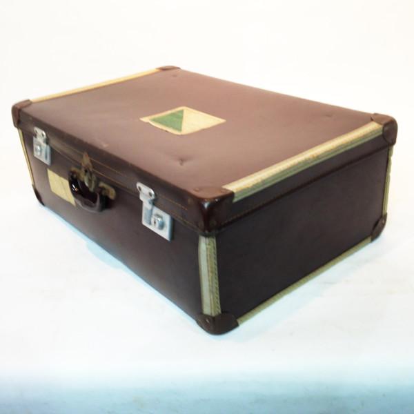 3: Large Brown Travel Case