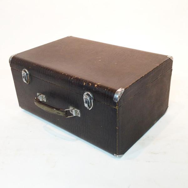 2: Dark Brown Crocodile Skin Case