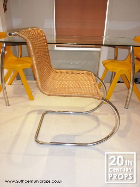 1: Mies Van Der Rohe cantilever chair