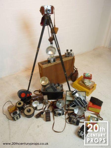 2: Vintage cameras & accessories