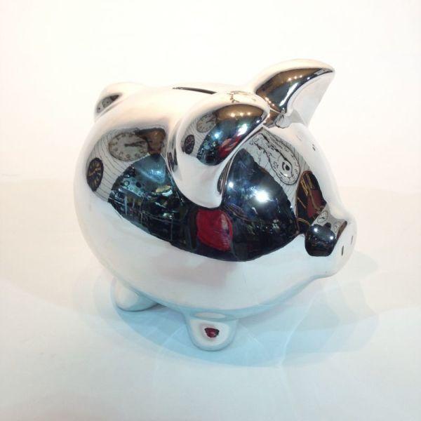 2: Silver Piggy Bank