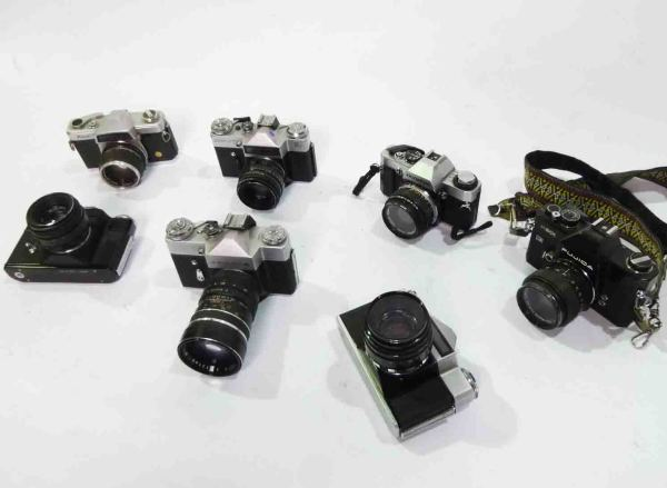 2: 90's style SLR Cameras