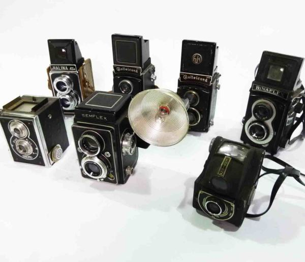 2: Retro Twin Flex Cameras