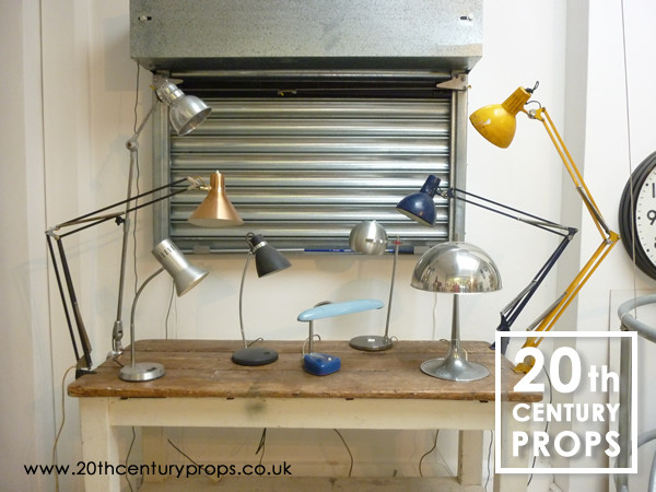 2: Vintage / Industrial desk lamps