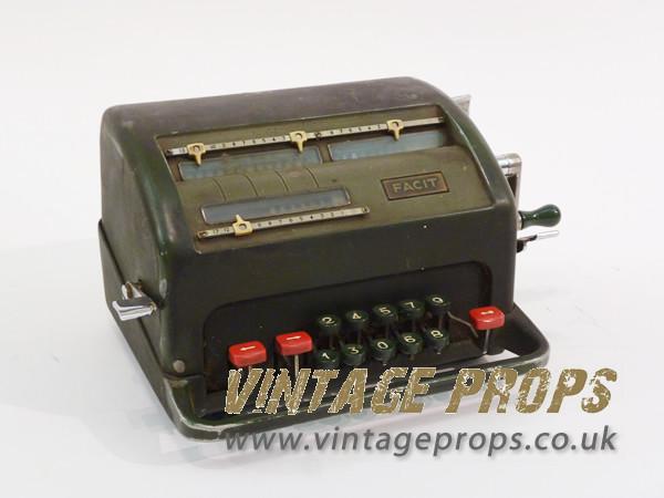 1: Vintage Calculator
