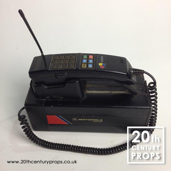 1: 1980's Motorola 4500x mobile phone