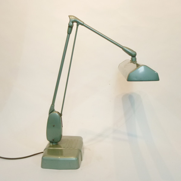 2: Industrial adjustable desk lamp