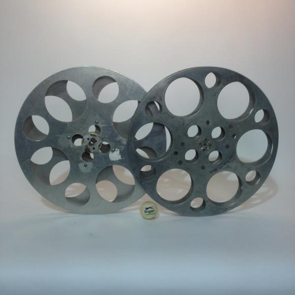 1: Large Metal 35mm Film Reels