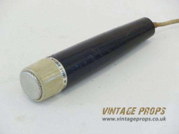 1: Vintage microphone