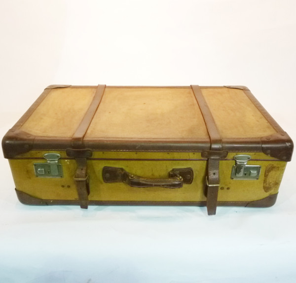 1: Large Yellow Suitcase