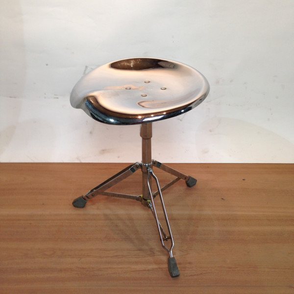 1: Metal Drum Stool