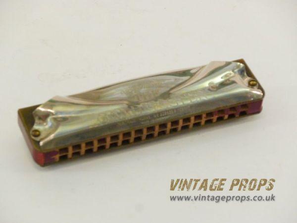 1: Vintage harmonica