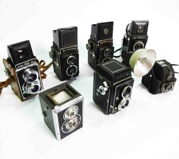 3: Retro Twin Flex Cameras