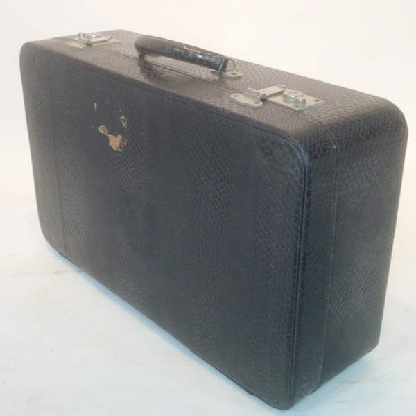 4: Large Black Suitcase