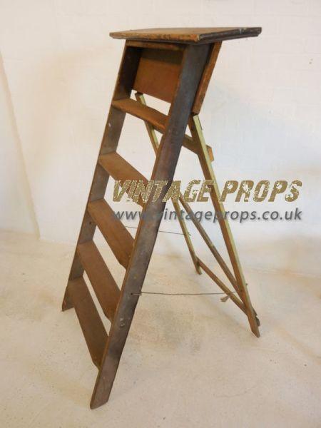 1: Vintage ladders