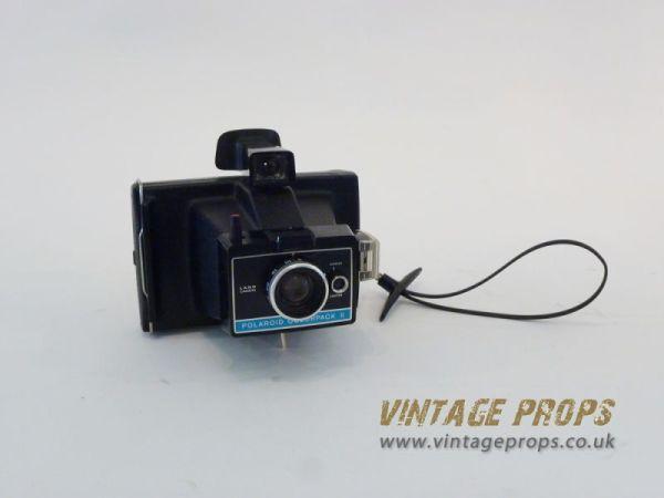 2: Vintage polaroid camera