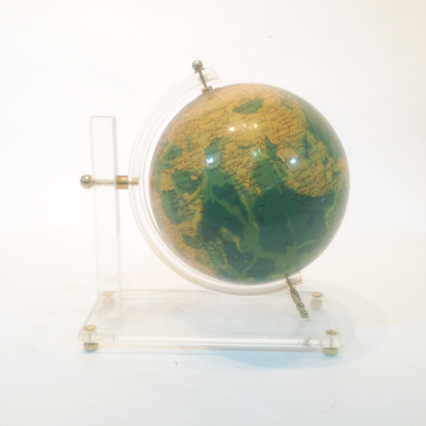 3: 1960's Globe on perspex stand