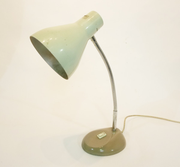 4: White Posable Desk Lamp